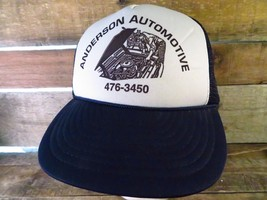 ANDERSON Automotive Vintage Trucker Snapback Adjustable Adult Hat Cap  - $24.74