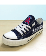 Los angeles angels of anaheim shoes womens sneakers baseball fashion can... - $59.99+