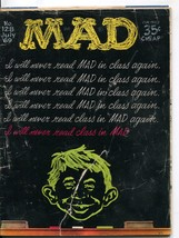 Mad-Magazine-#128-1969-Mort Drucker-Don Martin-David Berg-Al Jaffee - $25.22