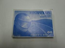 2000 Honda CB750 Nighthawk Owners Operators Owner Manual NEW - $54.44
