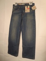 New Levi's 505 Girls Size 7 Regular Jeans Straight Leg 50% OFF New With Tags - $18.81