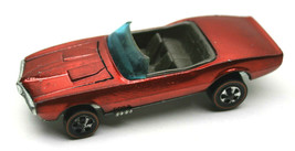 Vintage 1967 Hot Wheels Red Custom Firebird Redline Diecast Car Mattel M... - $63.10