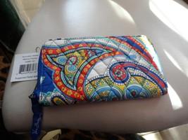 Vera Bradley Accordian Wallet in Marina Paisley - $29.50