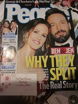 PEOPLE MAGAZINE JULY 20 2015 BEN AFFLECK AND JENNIFER GARNER BRAND NEW - $9.99
