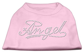 Angel Rhinestud Shirt Light Pink XXL (18) - $12.98