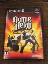 Playstation 2 Guitar Hero World Tour with instruction manuel - $11.30