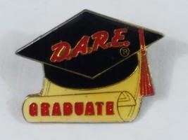 D.A.R.E. Graduate Lapel Pin Enamel Pinback Collectible - $4.99