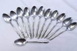 """Oneida Thor Stainless Oval Soup Spoons 7.25"""" Lot of 12 - $39.19"""