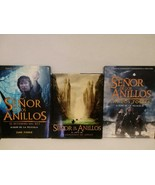 SENOR DE LOS ANILLOS - 3 HARD COVER BOOKS - LORD OF THE RINGS - FREE SHI... - $70.13