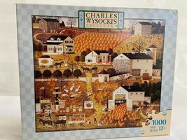 Charles Wysocki Jigsaw Puzzle Game Rare Bread and Butter Farms 2007 1000... - $49.49