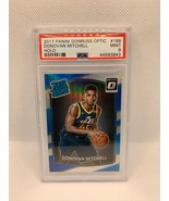 Donovan Mitchell RC Optic Holo Prizm #188 Rookie 2017-18 PSA 9 NBA - $349.99