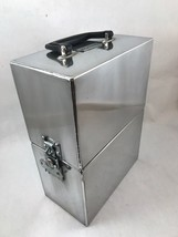 ICC Impact Case And Container. 2 Bottle Wine Case. Stainless Lockable. - $95.00