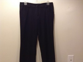 Women's Black Pin Stripe Dress Pants by Mandee Sz 9