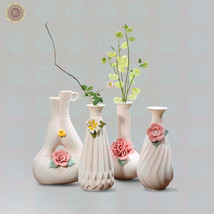WR Porcelain Pink Flower Vase Decorating Ideas for The Home Romantic Gifts - $21.85+