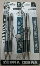 2- Zebra F-301 - Ballpoint pen - black - 0.7 mm - fine - retractable - pack of 2 - $10.88