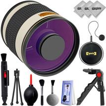 Opteka 500mm f/6.3 Telephoto Sport & Wildlife Lens for Nikon DSLR Cameras - $99.00