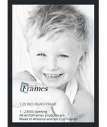 ArtToFrames 23x33 inch Black Picture Frame, 2WOMFRBW72079-23x33 - $47.65