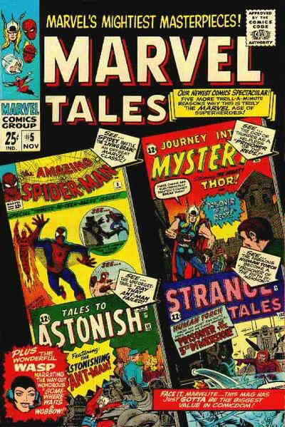Primary image for Marvel Tales (2nd Series) #5 VG; Marvel | low grade comic - save on shipping - d