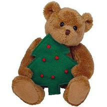 Twinkling Bear with Xmas Tree 2005 Jingle Beanies Ty Beanie Baby MWMT Re... - $8.86