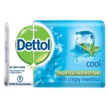 Dettol Bath Soap - Anti Bacterial - Dettol Cool Soap 75 gram (PACK OF 3) - $13.09