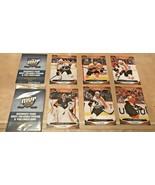 Set of 6 Sealed Philadelphia Flyers My MVP Upper Deck Hockey Cards SGA 2020 - $5.99