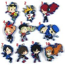 Anime PERSONA 5 P5 Rubber Strap Phone Charm Keychain KeyRing Joker Gift  - $4.54+