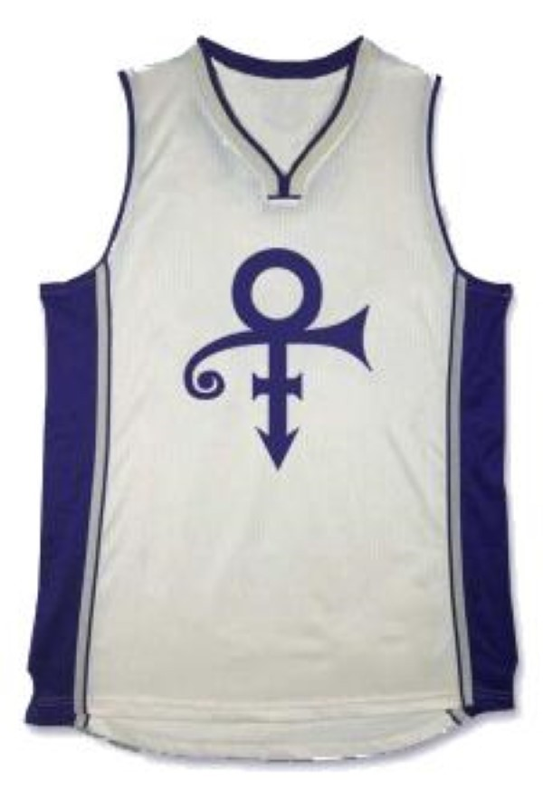 Prince the rock star basketball jersey   2