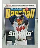 Street & Smiths 2007 Baseball Magazine John Smoltz Atlanta Braves - $11.29