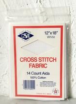 Cross Stitch Originals Aida 14 Count Cross Stitch Fabric 100% Cotton - 1... - $4.70