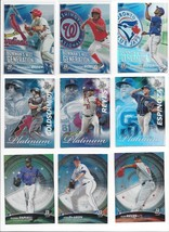 2017 BOWMAN PLATINUM - ALL INSERTS ( STARS, ROOKIE RC'S ) - WHO DO YOU N... - $1.05