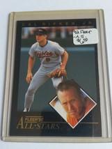 1992 Fleer All-Stars #20 Cal Ripken : Baltimore Orioles - $4.04