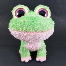 "Ty Beanie Boos KIWI Burp Frog Plush Green Pink 6"" Rare Retired 2009 No H... - $59.99"