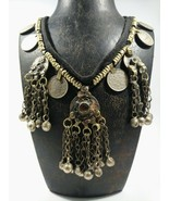 Antique handmade super fine necklace pendant ethnic antique rear pendant  - $269.00
