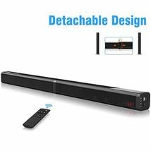 Sound Bar Excelvan 40W Detachable Wireless Soundbar with Built-in Subwoo... - $62.95