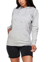 Women's Soft Lightweight Pull Over Sweatshirt Casual Drawstring Hoodie Sweater image 10
