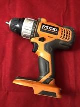 "Ridgid R86007 18V 1/2"" Cordless Lithium Ion VSR Power Drill Driver Tool Only - $19.90"