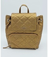Kate Spade Emerson Place Neko Antique Gold Leather Backpack Bag New NWT ... - $228.00