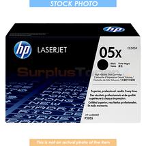 CE505X HP LASERJET P2055DN PRINT CARTRIDGE BLACK 6.5K - $114.33