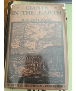 Giants in the Earth English First Edition - $200.00