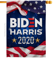 US Biden Harris - Impressions Decorative House Flag H170145-BO - $40.97