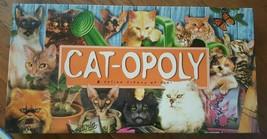 Cat-Opoly A Feline Frenzy of Fun Board Game - $21.77