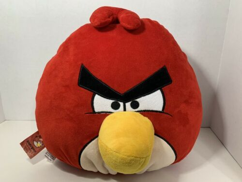 Primary image for Angry Birds Red plush Rovio Entertainment large stuffed animal soft toy pillow