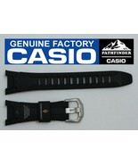 CASIO PATHFINDER PRW-1300J-1 Original Black Rubber Watch BAND Strap - $54.52