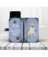Yellow Labrador Wallet Phone Case for iPhone Samsung Galaxy Gift for Lab... - $24.95