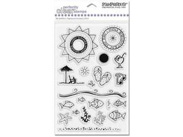 Stampendous Summer Scene Clear Stamp Set #SSC188 - $9.99