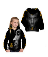 Kobe Bryant Basketball Legend Zipper Hoodie For Girls Kids - $36.99+