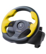 Logitech Wingman Formula GP Rubber Wheel with Pedals (game port) - $148.48