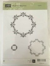 Stampin Up Daydream Medallions Clear Mount Stamps Set 2 of 2 Floral Fram... - $10.00