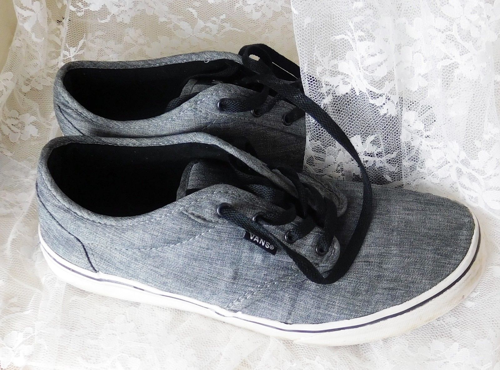 447fd7348a Vans Off The Wall Men s Sneakers Size 7 Gray and 50 similar items