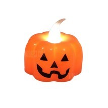 Pumpkin LED Electronic Candle Lamp  Halloween Decoration  - €6,40 EUR